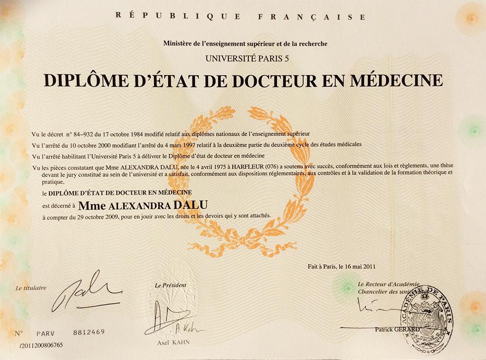 diplome universitaire medecine paris 6